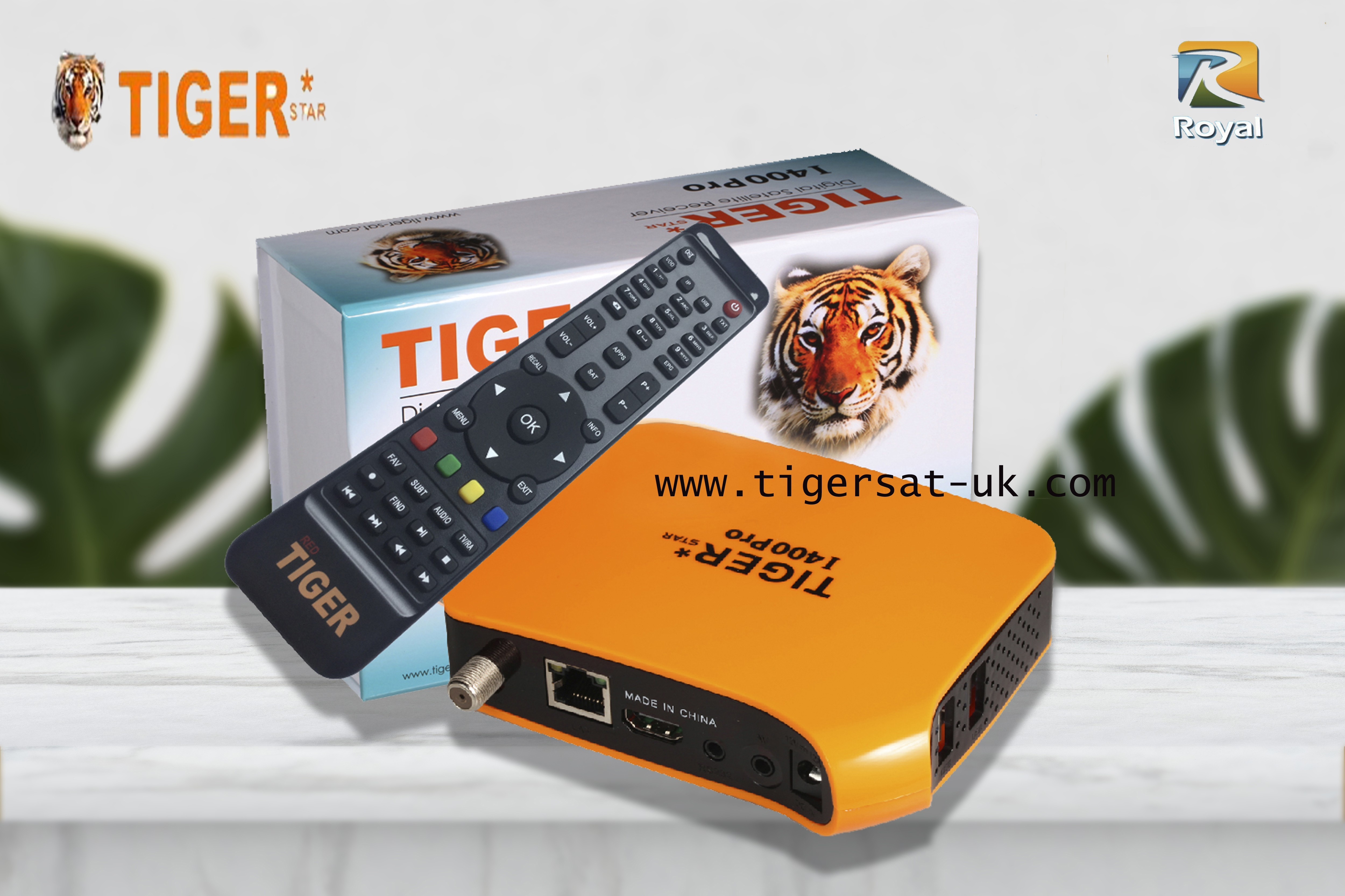 Tiger Star i400 Pro Orange