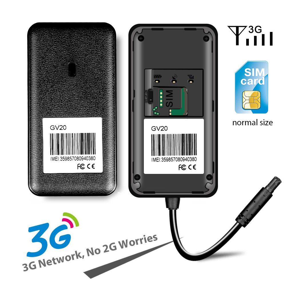 JIMI GPS GV20 3G  Vehicle Tracking device